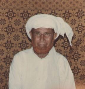 Hafiz Faqeer Mohammad (late) of Roda