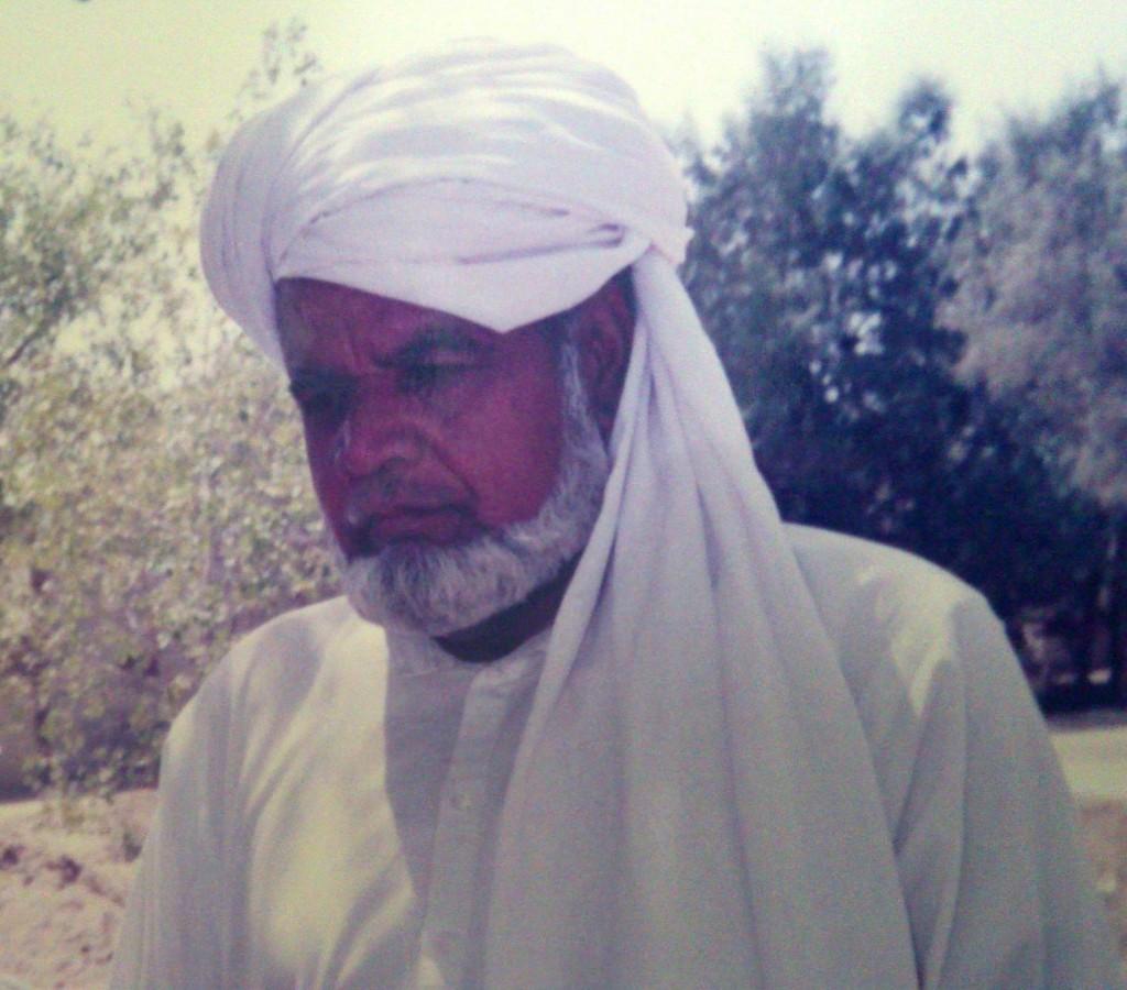 سیکرٹری ملک غلام حسین مرحوم آف روڈہ ضلع خوشاب  DOD: 28-10-2013