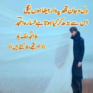 Amjal malik poetry`