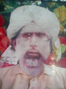 Sher Muhammad s.o Muhammad Ameer -Chak 14, Adhi Sargal