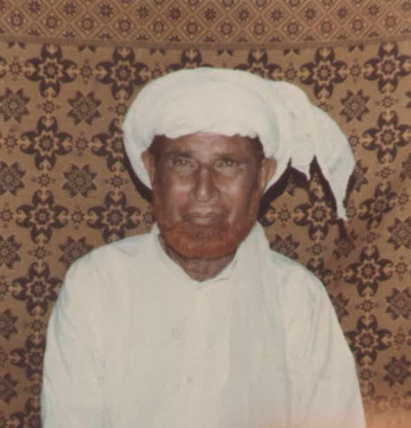 Hafiz Faqeer Muhammad (Late) of Roda