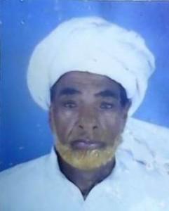 Haji Habib Ullah Late - Adhi Sargal DoD: